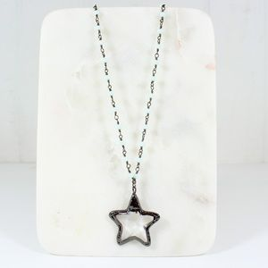 Glass Star pendant